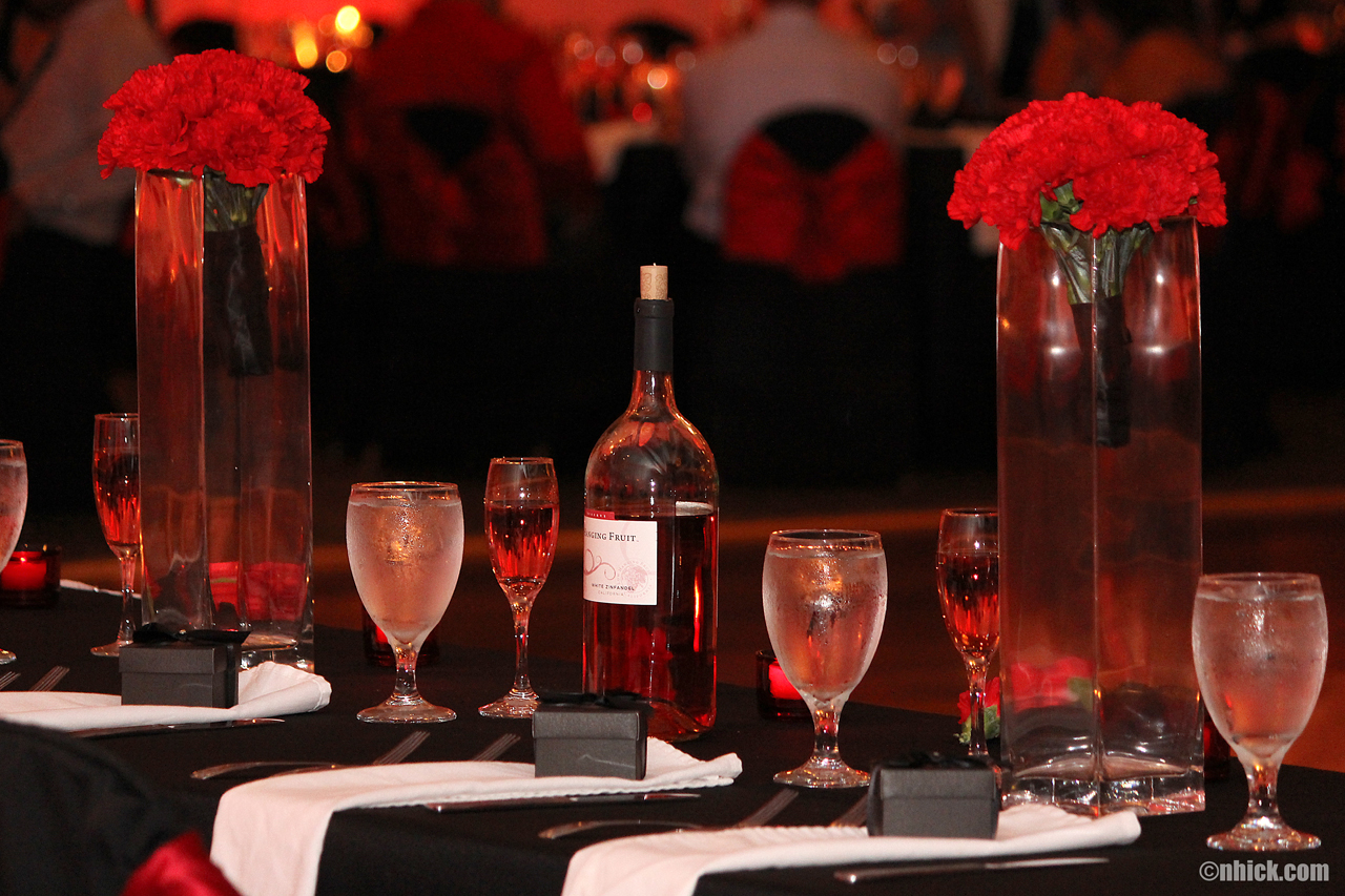 Black and Red Theme Wedding Ceremony and Reception in Tampa ...