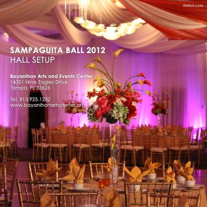 Sampaguita Ball 2012 Hall Setup
