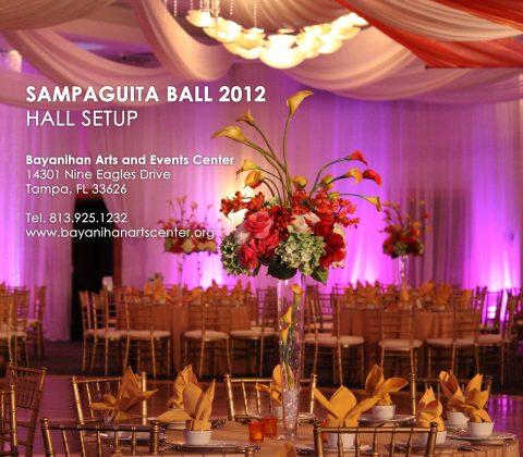Sampaguita Ball 2012 Hall Setup