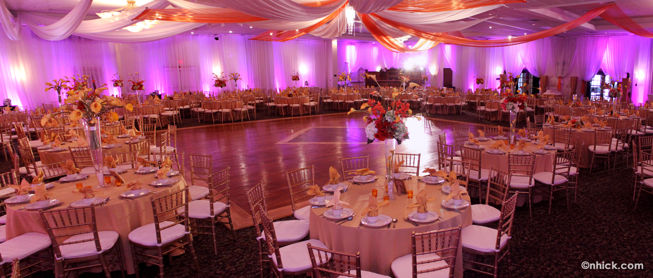 Grand Sampaguita Ballroom/Hall of the Bayanihan Arts and Events Center in Tampa, FLorida