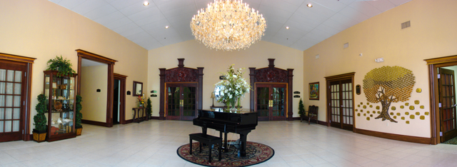 Bayanihan Arts and Events Center's Bautista Lobby